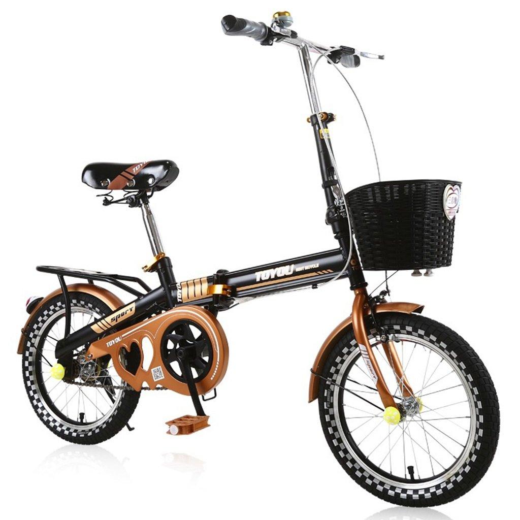 CSQ 子供の自転車、少年少女のために適して折りたたみ可能な都市路線高炭素鋼2-10歳使用108-125CM 子供用自転車 (色 : B, サイズ さいず : 125CM) B07DQJ5P97B 125CM