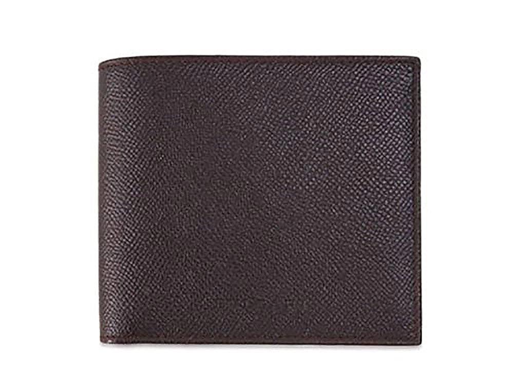 ブルガリ 財布 20815 BVLGARI メンズ二折り小銭付き財布 グレインレザー チョコレート [並行輸入品] B014ONJ66M