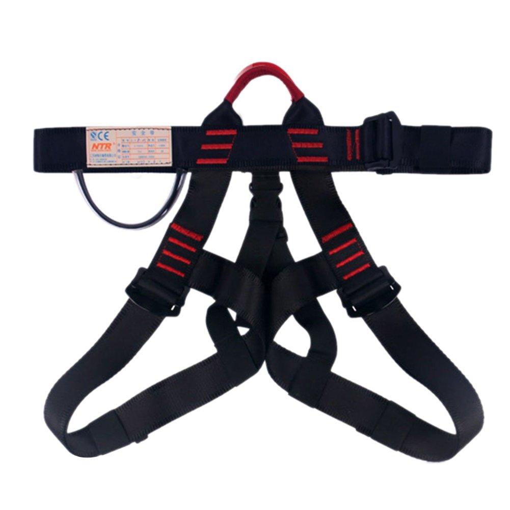 Escalada arn/és proteger pierna cintura m/ás seguro cinturones para monta/ñismo exterior Fire Rescue Rock Climbing