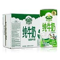 Arla 爱氏晨曦 德国 进口牛奶 全脂纯牛奶 200ml*24(德国进口)(新老包装随机发货)
