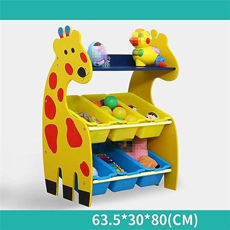 Caja de almacenamiento de juguete Organizador de almacenamiento de juguetes for niños con contenedores de plástico, cajón de estante de caja de almacenamiento: perfecto for el almacenamiento doméstico: Amazon.es: Hogar