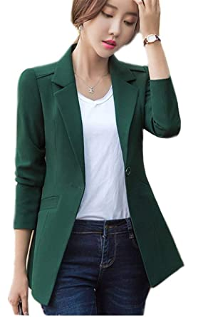 9d9747a116eea8 Anzug Damen Frühling Herbst Oversize Business Blazer Jacken Party Stil Mode  Elegant Slim Fit Revers Longsleeve