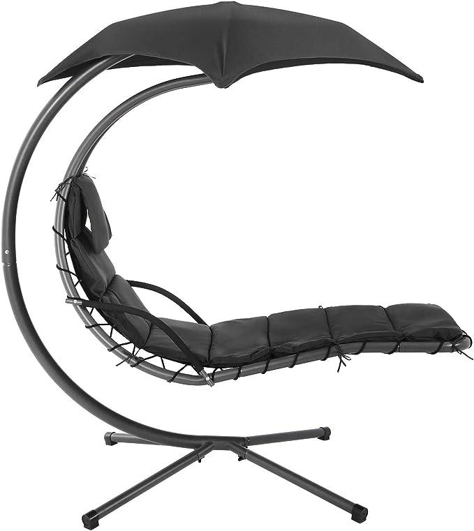 La chaise Longue Suspendue avec Support