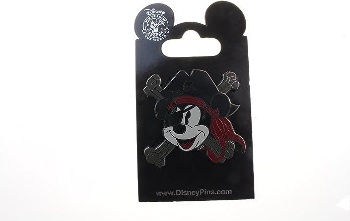 Disney Pin 102842 Pirate Mickey Cross-Bones Pin