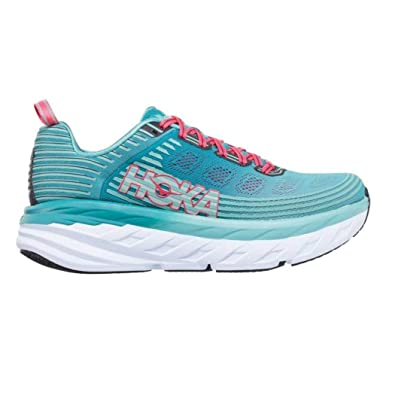 bdc4448c4d019 HOKA ONE ONE Women's Bondi 6 Running Shoe, Canton/Green/Blue Slate 9 US