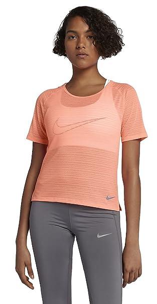 Nike Womens Miler Breathe Short Sleeve Top at Amazon Women's
