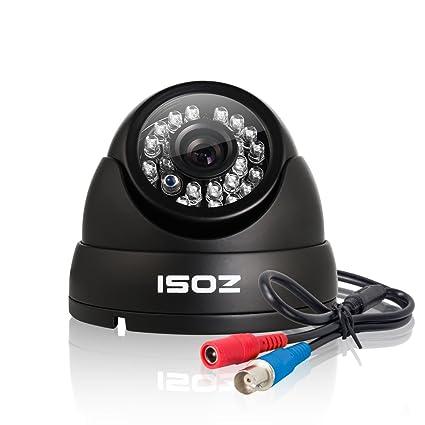 ZOSI AHD 720P Cámaras de Vigilancia en Domo Seguridad Exterior y Interior, IR-Cut