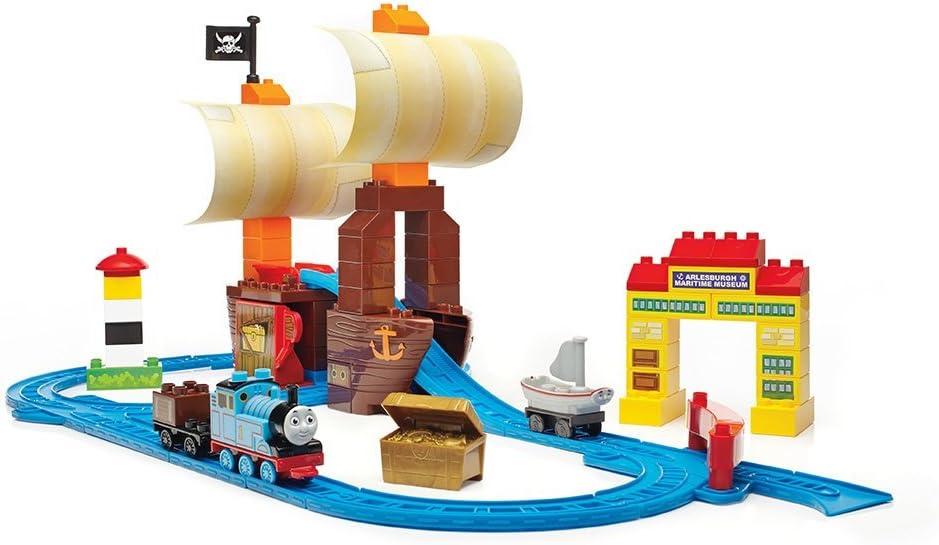 Mega Bloks Mattel - Juego de construcción, Aventura del Tesoro Escondido (Mattel CNJ14)