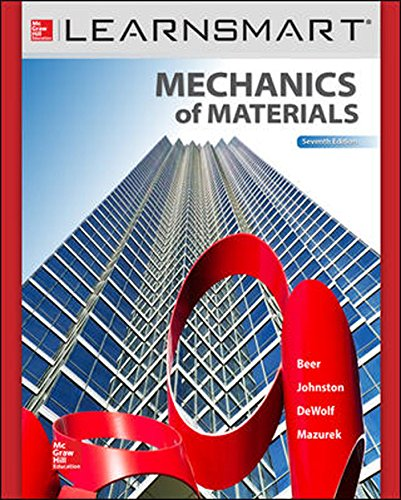 LearnSmart for Beer & Johnston Mechanics of Materials