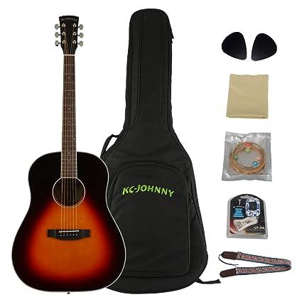 Amazon Com Kc Johnny Guitar Kc Ndm 440 Bs 41 Full Body Martin