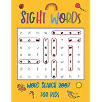 Sight Words Word Search Book for Kids: High Frequency Words Activity Book for Raising Confident Readers