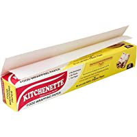 Kitchenette Food Wrapping Paper - 20 Meters Coreless Roll, White