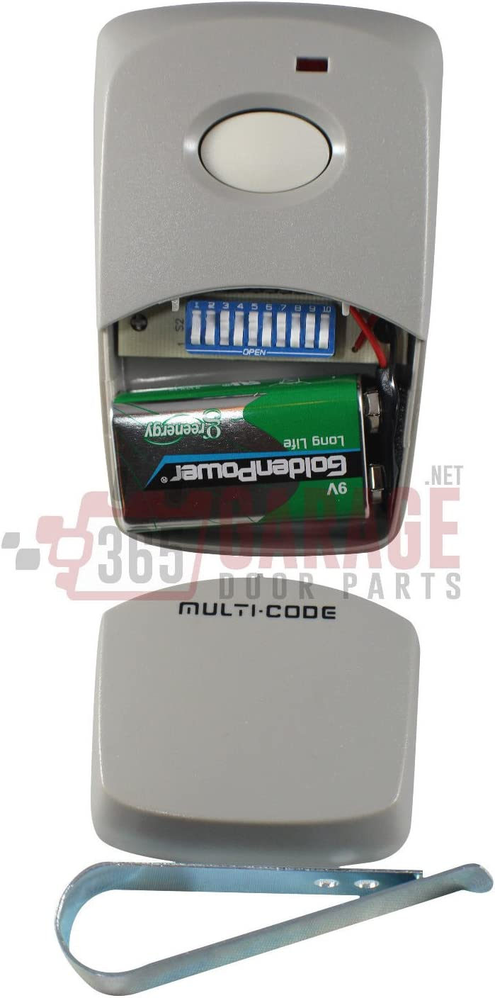 for 2-Pack for Multi-Code 3089 MultiCode 308911 Linear MCS308911 Garage Gate Remote 300m