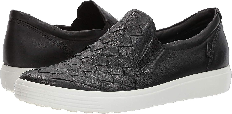   ECCO Women's Soft 7 Woven Slip on Fashion Sneaker   Fashion Sneakers