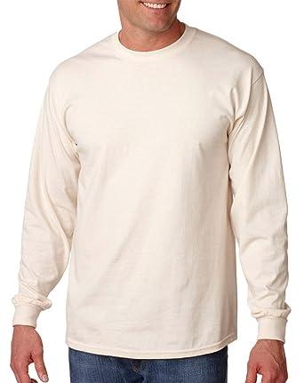 377c952c Gildan Men's Double Needle Bottom Hem Rib Knit T-Shirt at Amazon ...