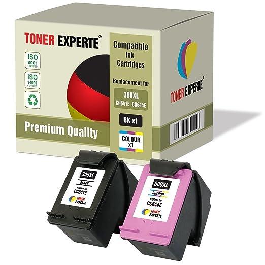 30 opinioni per Kit 2 XL TONER EXPERTE® Cartucce d'inchiostro compatibili con HP 300XL Deskjet