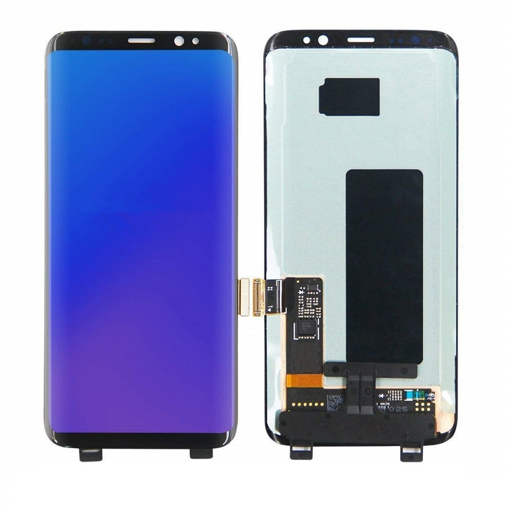Display Touch Screen Digitizer Assembly Replacement Part for Samsung Galaxy S8 G950A G950T G950V G950P SM9500 G950N G950F G950U,Repair Tools and Screen Protector.(Black,5.8 in)