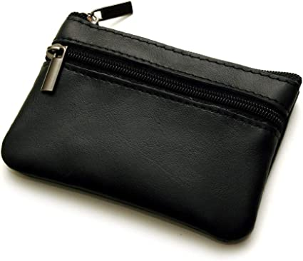 Coin Purse Zippered Change Pouch