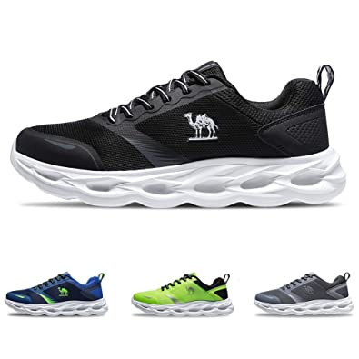 CAMEL CROWN Breathable Trail Running Shoes Lightweight Tennis Shoes  Comfortable Sneakers Fashion Athletic Shoes for Men 9030490b90