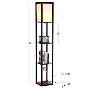 Brightech-Maxwell-LED-Shelf-Floor-Lamp