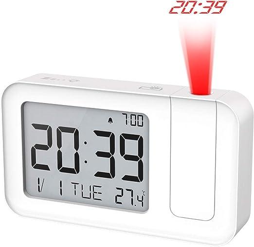 Amazon.com: Reloj despertador de proyección MoKo ...