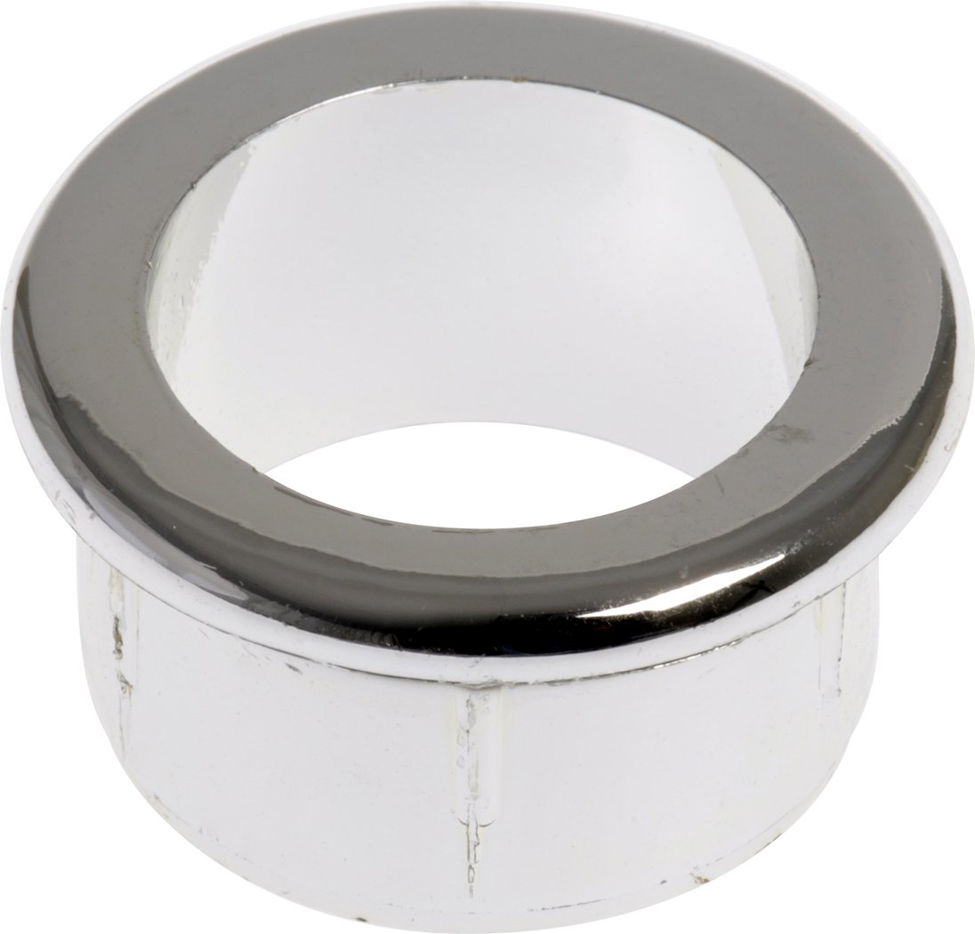 The Hillman Group 59088 1-1/2-Inch Chrome Grommet without Cap, 2-Pack
