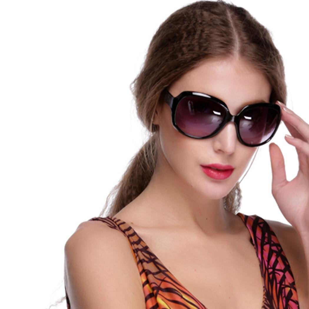 Kindsells Women Retro Vintage Style Shades Oversized Designer Lens Sunglasses Outdoor Driving Sunglasses
