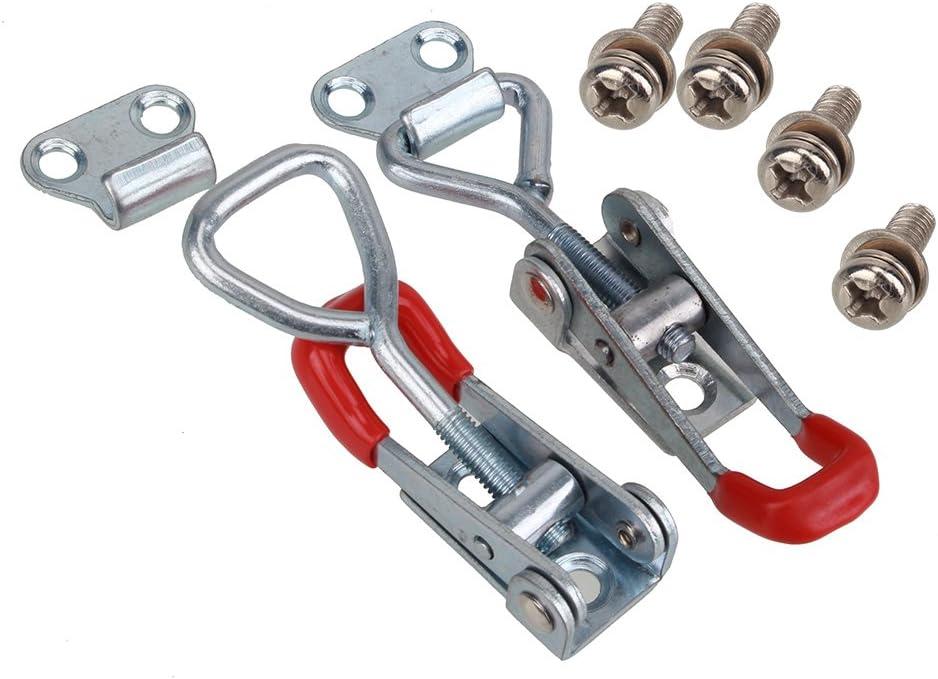 Lawrence metal ROPE-NAUG-21-040-2-SNAP-1S Rope Naugahyde Red 4/' Tensator 4