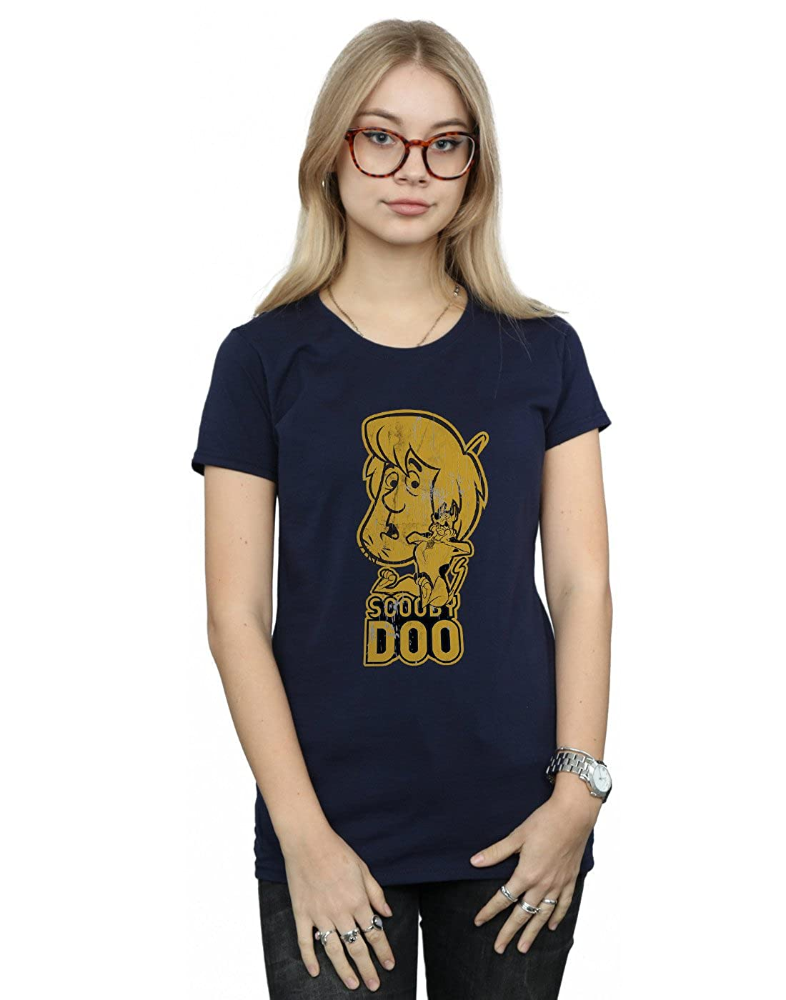 Absolute Cult Scooby Doo Mujer and Shaggy Camiseta