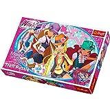 Trefl - 15296 - Puzzle - Winx Club - Vacances urbaines - 160 Pièces
