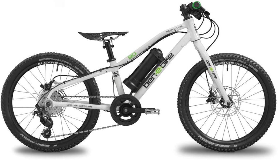 ben-e-bike Twenty E-Power 2020 - Bicicleta eléctrica para niños: Amazon.es: Deportes y aire libre