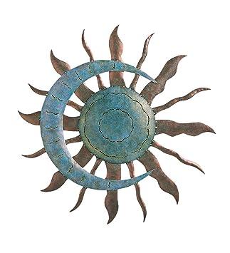 Plough Et Foyer Céleste Soleil Et Lune Décoration Murale Sculpture