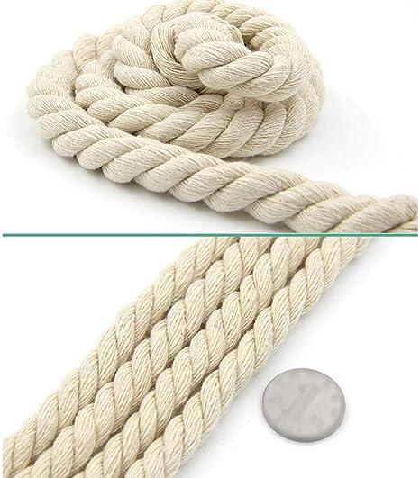 Cuerda ecológica natural cuerda de macramé trenzada de algodón for ...