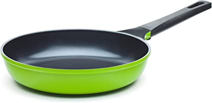 Ozeri 8 Green Earth Frying Pan With Smooth Ceramic Non Stick Coating 100 Ptfe And Pfoa Free Amazon Co Uk Kitchen Home