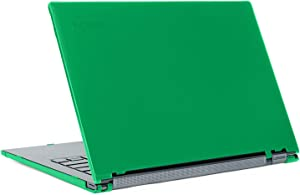 "mCover Hard Shell Case for Late-2019 14"" Lenovo Yoga C940 Series (NOT Fitting Older Yoga 900/910 / 920 / C930) multimode Laptop Computer (Yoga-C940 Green)"