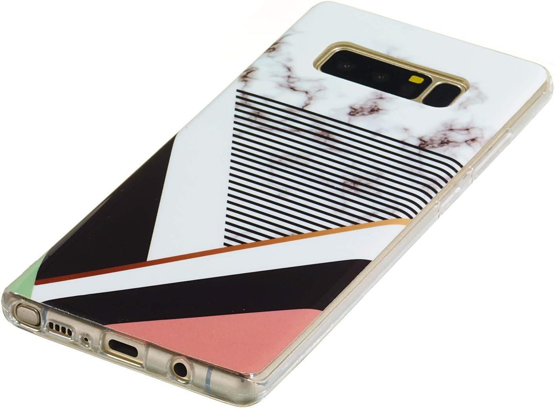 LOYHU260429 L9 Lomogo Samsung Galaxy Note 8 N950 Case Soft Silicone Case Shockproof Anti-Scratch Case Cover for Samsung Galaxy Note8