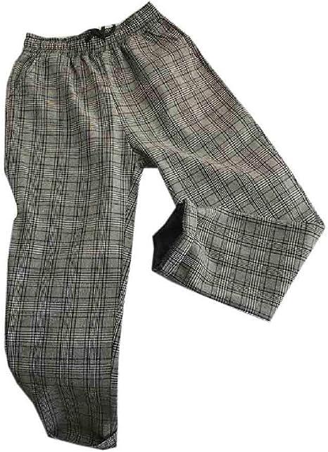VITryst Men Juniors Summer Plus Size Loose-Fit Relaxed Wide Leg Pants