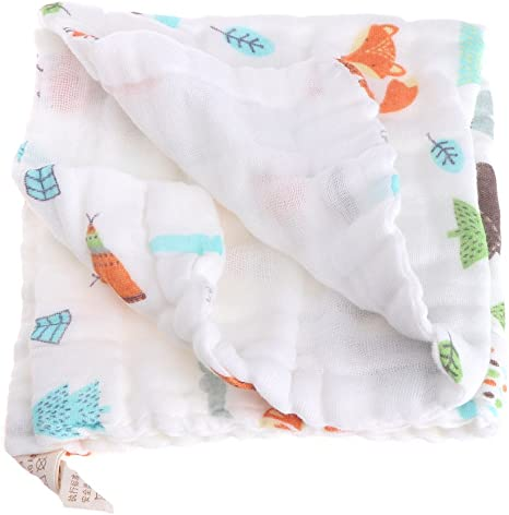 Xdodnev New Baby Cotton Feeding Towel Infants Handkerchief Gauze Nursing Clean Towel