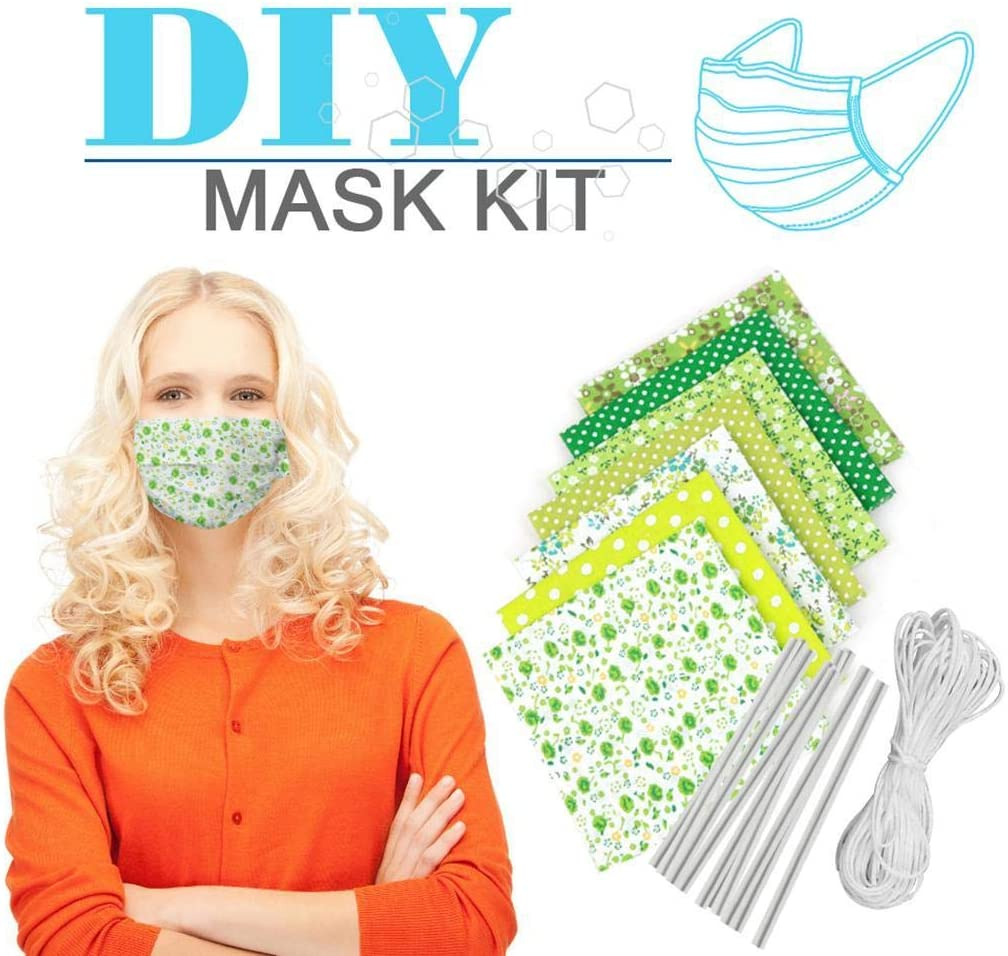 Set materiale copri bocca anti-polvere fai-da-te fai-da-te Mascherine