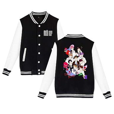 Chengquw NCT 127 Kpop Unisex Baseball Jackets Baseball Uniform