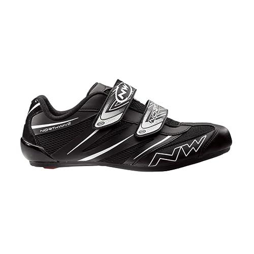 Zapatillas para bicicleta de carretera Northwave Jet Pro negro para hombre Talla 42 2014: Amazon.es: Zapatos y complementos