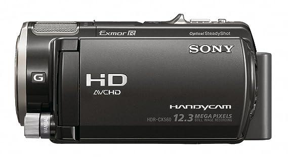 amazon com sony hdr cx560v high definition handycam camcorder rh amazon com