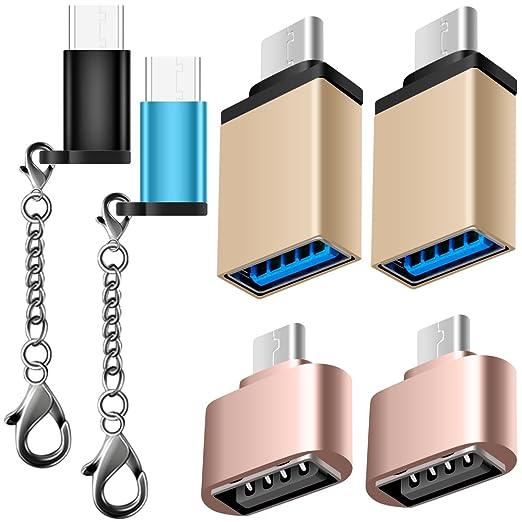 3 opinioni per 6 Adattatori Tipo-C, AFUNTA USB-C ad Adattatore Micro USB, Adapter USB-C a USB