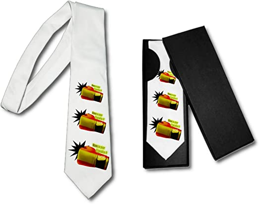 MERCHANDMANIA Corbata Elegante VOXEA por ESPAÑA Suave Poliester: Amazon.es: Ropa y accesorios