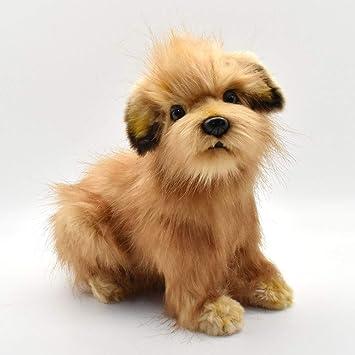 Plush Soft Toy Norfolk Terrier Cute Lifelike Dog 23cm