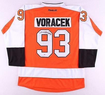 online store d9fa4 1842d Jakub Voracek Autographed Signed Philadelphia Flyers Jersey ...