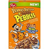 Peanut Butter and Cocoa Pebbles is a crispy rice cereal with the perfect combination of real peanut butter and cocoa. It will rock your morning! THE FLINTSTONES and all related characters and elements Hanna-Barbera. Yabba Dabba Doo! (TM)