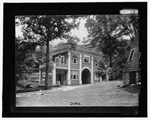 HistoricalFindings Photo: National Park Seminary,Colonial House,2745 Dewitt Circle,Silver Spring,MD,18