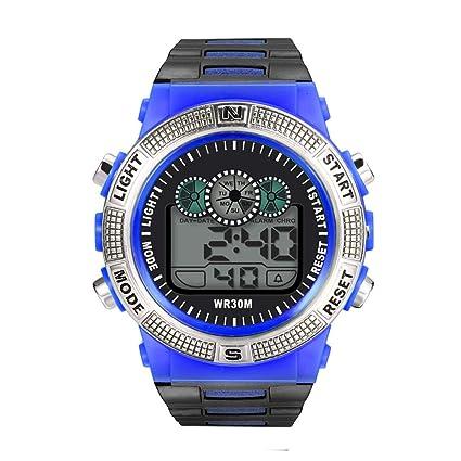 Reloj deportivo para hombre, analógico, digital, LED, para ...