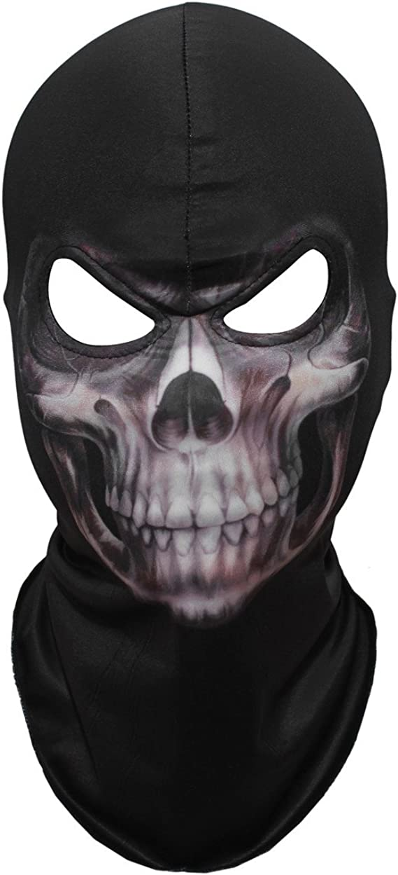 Dust Mask Unisex Fashion Skull Bicycle Cotton Face Protection Halloween Scary